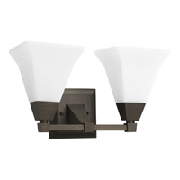 Progress Lighting Delta Glenmont 2 Light Bath Vanity in Venetian Bronze P3136-74