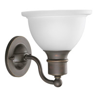 Progress P3161-20 Madison 1 Light 8 inch Antique Bronze Bath Vanity Wall Light
