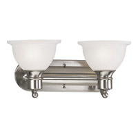 Progress P3162-09 Madison 2 Light 18 inch Brushed Nickel Bath Vanity Wall Light