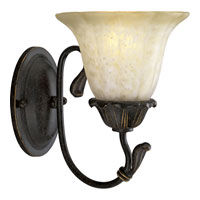 Progress P3176-84 Timberbrook 1 Light 7 inch Espresso Bath Vanity Wall Light photo thumbnail