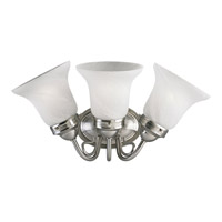 Progress Lighting Bedford 3 Light Bath Vanity in Brushed Nickel P3188-09EBWB
