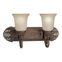 Progress Lighting Thomasville Carmel 2 Light Bath Vanity in Tuscany Crackle P3197-55