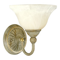 Savannah 1 Light 9 inch Seabrook Bath Vanity Wall Light