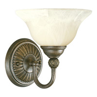Progress Lighting Savannah 1 Light Bath Vanity in Burnished Chestnut P3204-86