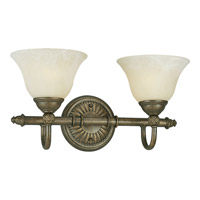 Progress Lighting Savannah 2 Light Bath Vanity in Burnished Chestnut P3205-86