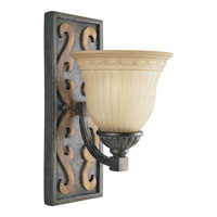 Progress Lighting Thomasville Provence 1 Light Bath Vanity in Old Iron Crackle P3212-92C
