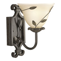 Progress Lighting Eden 1 Light Bath Vanity in Forged Bronze P3233-77