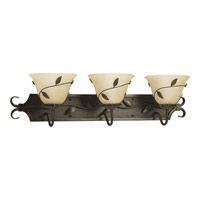 Progress Lighting Eden 3 Light Bath Vanity in Forged Bronze P3238-77