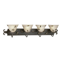 Progress Lighting Eden 4 Light Bath Vanity in Forged Bronze P3239-77