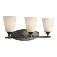 Progress Lighting Cantata 3 Light Bath Vanity in Forged Bronze P3248-77