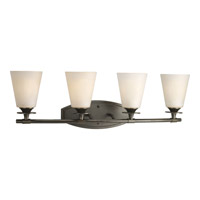 Progress Lighting Cantata 4 Light Bath Vanity in Forged Bronze P3249-77