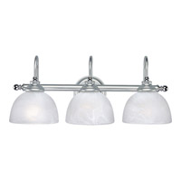 Progress Lighting Delta Bath Match 3 Light Bath Vanity in Brushed Platinum P3260-08