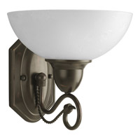 Progress Lighting Pavilion 1 Light Bath Vanity in Antique Bronze P3265-20