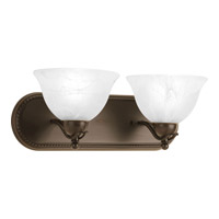 Progress Lighting Avalon 2 Light Bath Vanity in Antique Bronze P3267-20