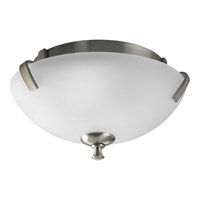Progress Lighting Wisten 2 Light Close-to-Ceiling in Brushed Nickel P3290-09
