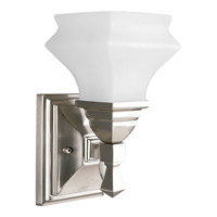 Progress Lighting Bratenahl 1 Light Bath Vanity in Brushed Nickel P3295-09