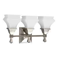 Progress Lighting Bratenahl 3 Light Bath Vanity in Brushed Nickel P3297-09