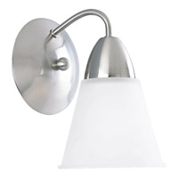 Progress Lighting Etched Glass 1 Light Bath Vanity in Brushed Nickel P3301-09