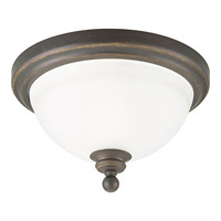 Madison 1 Light 12 inch Antique Bronze Close-to-Ceiling Ceiling Light