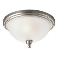 Progress Lighting Madison 2 Light Close-to-Ceiling in Brushed Nickel P3312-09