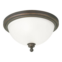 Madison 2 Light 16 inch Antique Bronze Close-to-Ceiling Ceiling Light