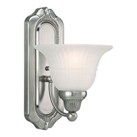 Progress Lighting Bradford 1 Light Bath Vanity in Antique Nickel P3313-81