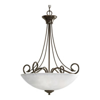 Pavilion 3 Light 22 inch Antique Bronze Hall & Foyer Ceiling Light