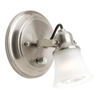 Progress Lighting Directionals 1 Light Close-to-Ceiling in Brushed Nickel P3329-09WB