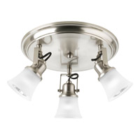 Progress Lighting Directionals 3 Light Close-to-Ceiling in Brushed Nickel P3330-09WB