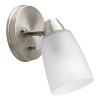 Progress Lighting Wisten 1 Light Directional Close-to-Ceiling in Brushed Nickel P3359-09