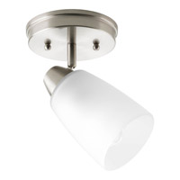 Progress Lighting Wisten 1 Light Directional Close-to-Ceiling in Brushed Nickel P3360-09