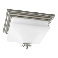 Progress Lighting Bratenahl 2 Light Close-to-Ceiling in Brushed Nickel P3364-09