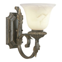 Progress Lighting Palmero 1 Light Bath Vanity in Weathered Bronze P3366-46