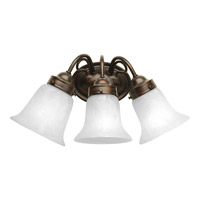 Progress P3369-20 Bedford 3 Light 16 inch Antique Bronze Bath Vanity Wall Light in Alabaster Glass