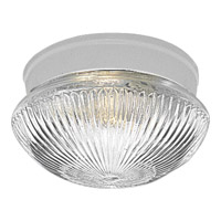 Fitter 1 Light 8 inch White Close-to-Ceiling Ceiling Light