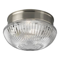 Progress Lighting Fitter 2 Light Close-to-Ceiling in Brushed Nickel P3406-09