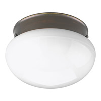 Progress Lighting Fitter 1 Light Flush Mount in Antique Bronze P3408-20WB