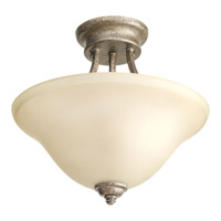 Progress P3414-144 Spirit 2 Light 13 inch Pebbles Semi-Flush Mount Ceiling Light