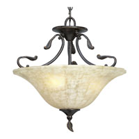 Progress Lighting Timberbrook 3 Light Semi-Flush Mount in Espresso P3416-84