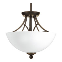 Progress Lighting Prosper 2 Light Semi-Flush Convertible in Antique Bronze P3422-20