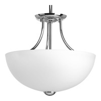 Progress Lighting Random 2 Light Semi-Flush in Polished Chrome P3426-15WB