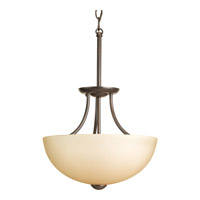 Progress P3427-20WB Random 2 Light 13 inch Antique Bronze Close-to-Ceiling Ceiling Light in Light Umber Etched Glass