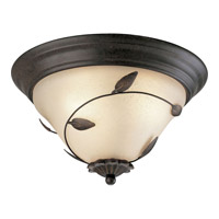 Progress Lighting Eden 3 Light Close-to-Ceiling in Forged Bronze P3439-77