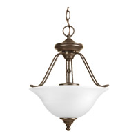 Avalon 3 Light 13 inch Antique Bronze Close-to-Ceiling Ceiling Light in Alabaster Glass