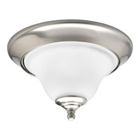 Progress Lighting Trinity 1 Light Close-to-Ceiling in Brushed Nickel P3475-09