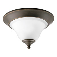 Trinity 1 Light 13 inch Antique Bronze Close-to-Ceiling Ceiling Light
