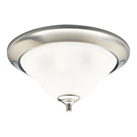 Progress Lighting Trinity 3 Light Close-to-Ceiling in Brushed Nickel P3477-09