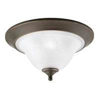 Progress P3477-20 Trinity 3 Light 17 inch Antique Bronze Close-to-Ceiling Ceiling Light