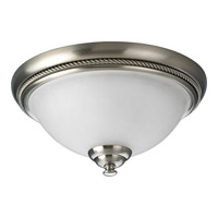Progress Lighting Pavilion 1 Light Close-to-Ceiling in Brushed Nickel P3478-09