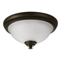 Pavilion 1 Light 12 inch Antique Bronze Close-to-Ceiling Ceiling Light
